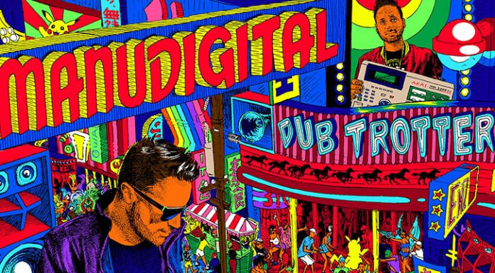 Artwork - Manudigital - Dub Trotter2