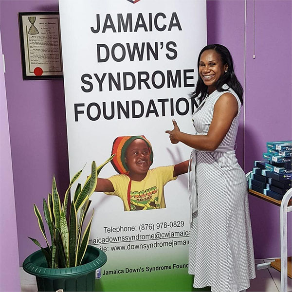 sophia brown Jamaica Downs Syndrome Foundation 2